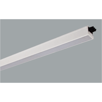 Grey Linear LED ceiling lights on a grey background