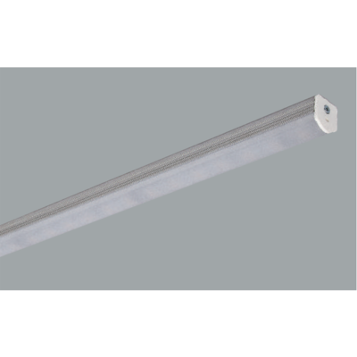 Grey Linear LED rounded ceiling lights on a grey background