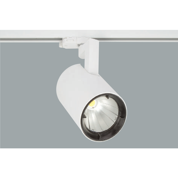 A white Led Spotlights with grey background