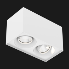 White Box surface mounted ceiling light on a black background